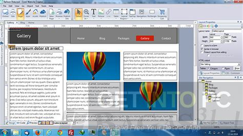 Corel Website Creator 15 Free Download Corel Website Creator Templates Free
