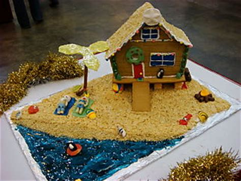 cool gingerbread house designs a gingerbread beach house i am going to try that this year my christmas happy
