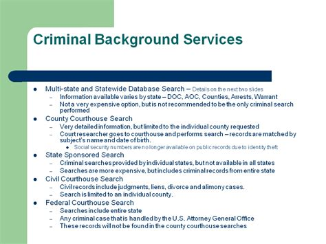 Background Check Complete Background Bureau Complete Background Check Services