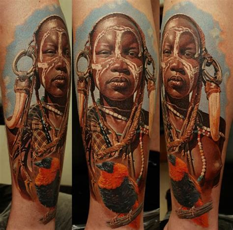 famous tribal tattoo artists amazing photorealistic tattoos by dmitriy samohin 171