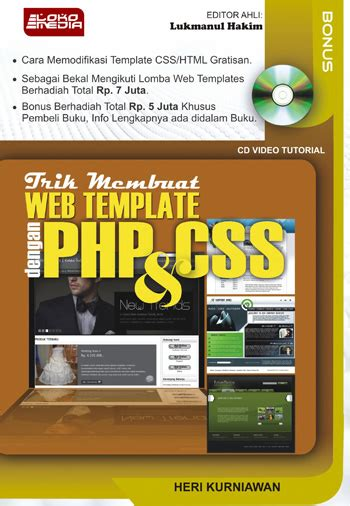 membuat template website dengan html dan css trik membuat web template dengan php dan css