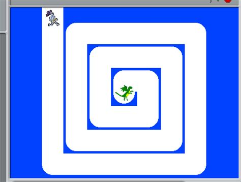 Maze In Blue maze race my code club journal