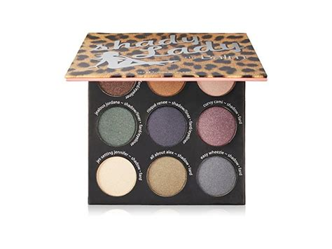 Thebalm Eyeshadow Palette 1 thebalm shady 9 shadow palette 1 set ingredients and