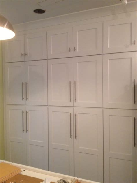 white shaker pantry cabinet end of week 2 of kitchen remodel kitchen doctors
