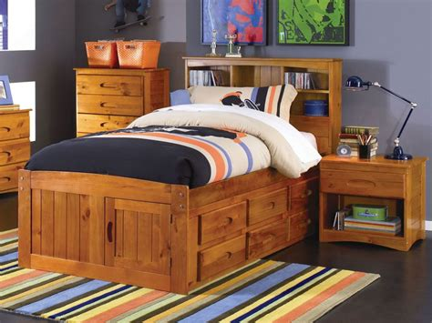 twin bed with trundle and storage twin captains bed with storage trundle home design ideas