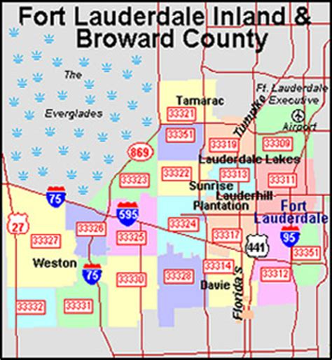 Bso Search Broward County Zip Code Map My