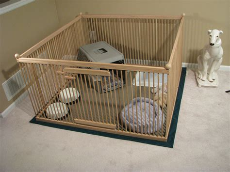 indoor puppy playpen 4 x4 oak large indoor kennel with durable