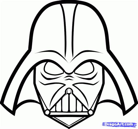 printable coloring pages darth vader darth vader coloring pages to and print for free