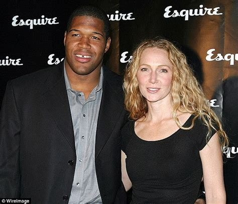 michael strahan and his wife michael strahan calls his divorce the worst best thing to