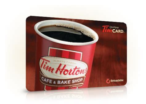 free tim hortons gift card giveaway - Tim Hortons Gift Card Canada