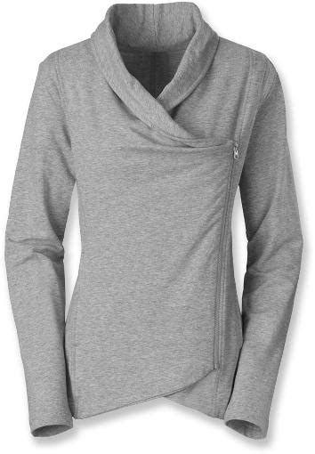 north face sharlet wrap sweater womens  rei
