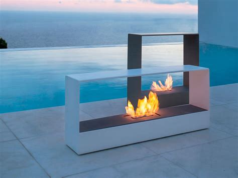 Stand Alone Outdoor Fireplace by Warm Up Your With These 13 Freestanding Fireplace