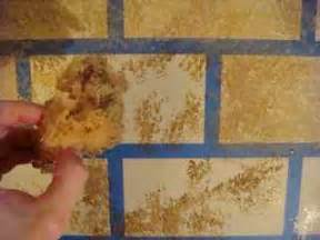 Faux Stone Wall Painting - how to create a faux wall interior design ideas