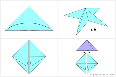 Origami Water Balloon - origami origami how to make a water bomb made water