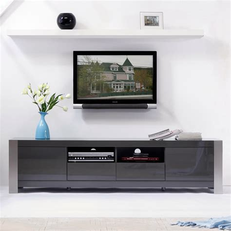 b modern furniture composer 79 quot contemporary tv stand in