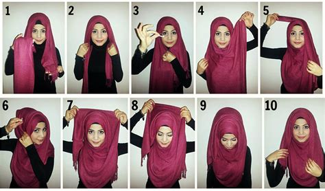 ideas on how to wear the scarf hijabiworld