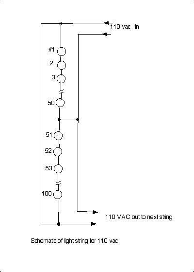 wiring diagram for string of christmas lights sandvolts