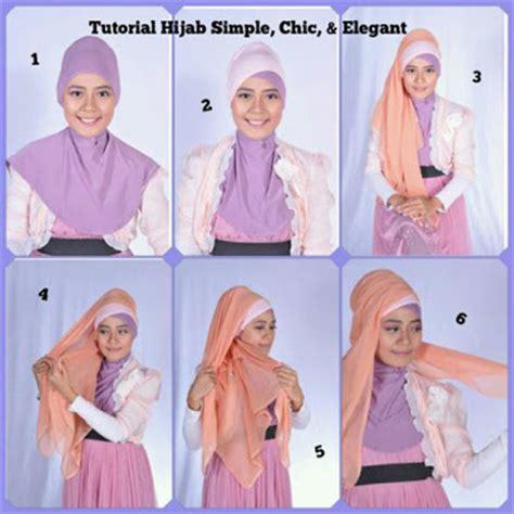 tutorial jilbab dengan headband cara lain memakai jillbab dengan headband tutorial hijab