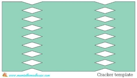 cracker template printable make your own crackers in the madhouse