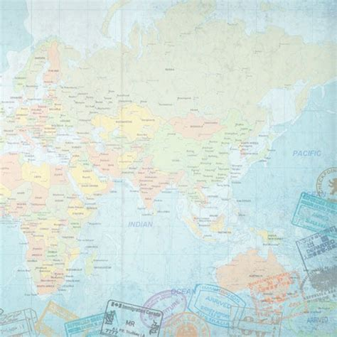 Map Craft Paper - map scrapbook paper kelloggrealtyinc