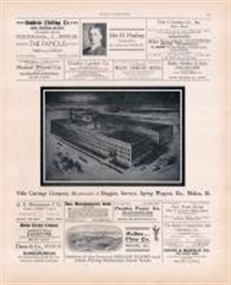 Sundeen Furniture by Rock Island County 1905 Microfilm And Orig Mix Illinois