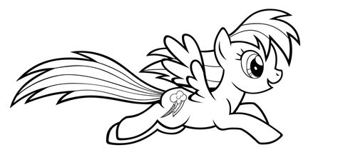 Coloring Pages My Pony Rainbow Dash rainbow dash coloring pages best coloring pages for
