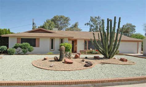 attractive front yard desert landscaping ideas bistrodre