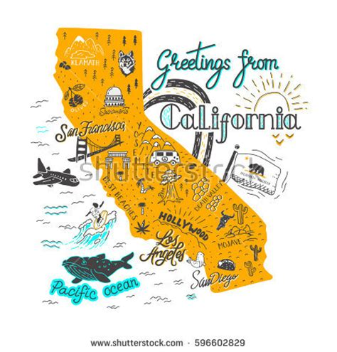 Free Search California California Map Stock Images Royalty Free Images Vectors