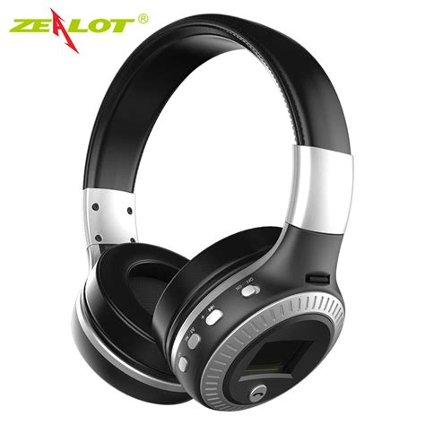Headphone Bluetooth Microsd Fm Radio Headset Earphone zealot b19 bluetooth headphones wireless stereo earphone headphone with mic headsets micro sd