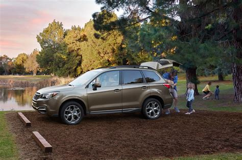 subaru forester touring 2017 2017 subaru forester 2 0xt touring first test review