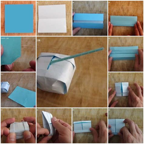How To Make Toys With Paper - how to make origami tank step by step diy