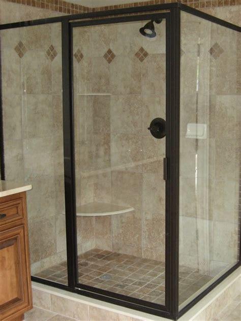 Shower Frame by Framed Shower Doors Enclosures