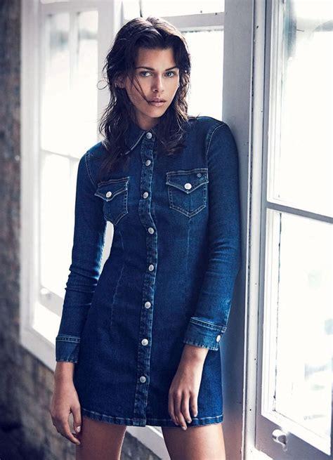 wear  denim dress  jeans blog