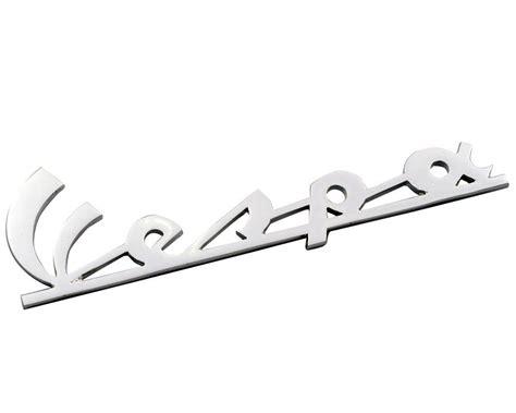 Schriftzug Aufkleber Motorrad by Schriftzug Aufkleber Sticker F 252 R Beinschild Quot Vespa Quot Chrom