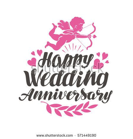 Happy Wedding Text Animation by Wedding Anniversary Stock Images Royalty Free Images