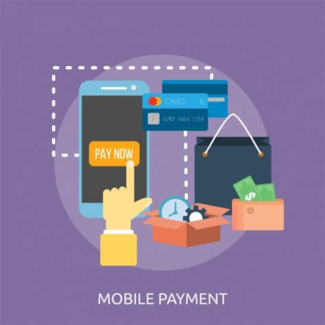 mobile payment software mobile payment background design vector free