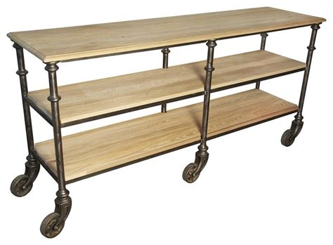sofa table on wheels console with wheels small contemporary console tables