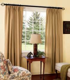 Floor length thermally lined drapes offer the best thermal