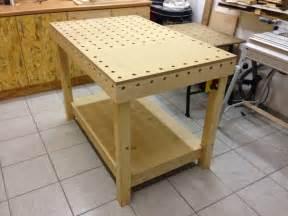 werkstatt tisch selber bauen holzwurmtom de der werk und fr 228 stisch das zentrum in