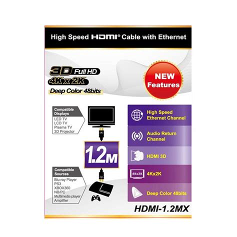 Px Hdmi Cable 2m jual px hdmi to hdmi cable 1 2m hdmi 1 2mx