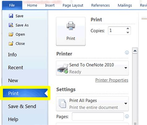 How To Print A Document
