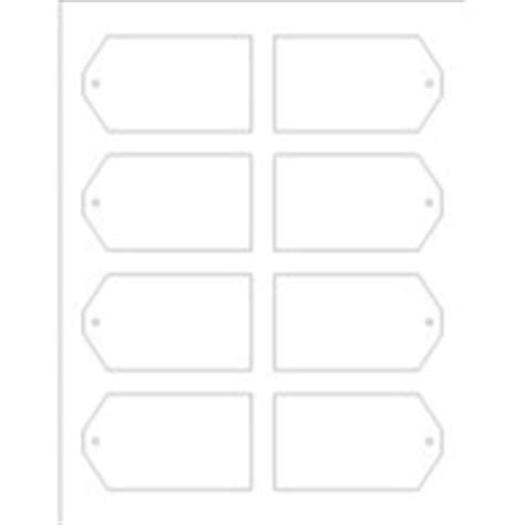 Avery Luggage Tag Template by Templates Printable Tags With Strings 8 Per Sheet
