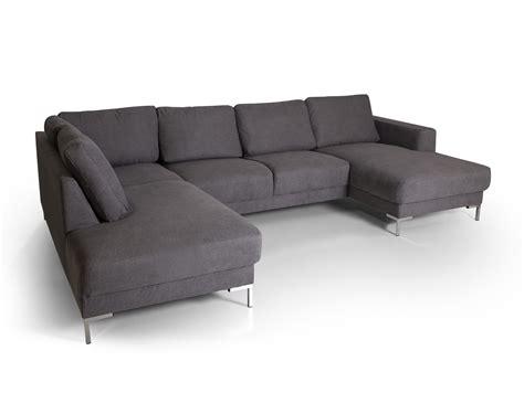 U Sofa Grau