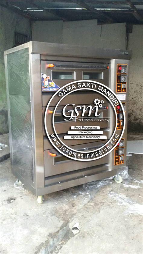 Oven Gas Roda mesin oven roti getra 3 rak toko mesin gama sakti