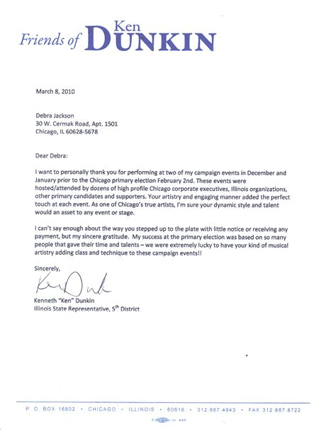 letter of recommendation exle best template collection