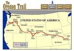 interactive oregon trail map jen crook edtech learning log my journey through the