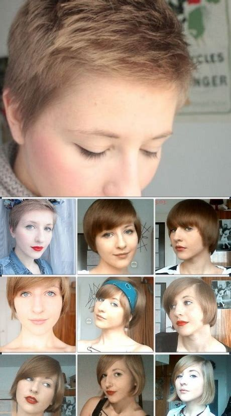 i grow my pixie haircut out no cutting for 6 months pixie cut growing out