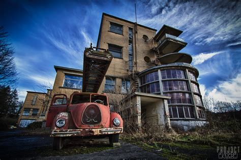 House Building House Style proj3ctm4yh3m urban exploration preventorium dolhain tb