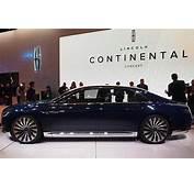 Lincoln Continental New York Auto Show