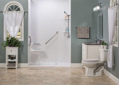 Bath Tubs And Showers barrier free showers columbus cleveland and cincinnati